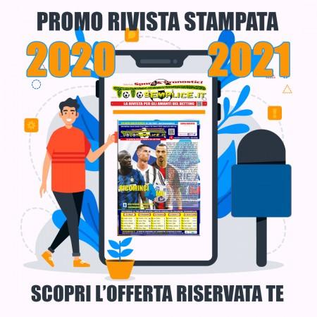 Abbonamento Stampato 2020-2021