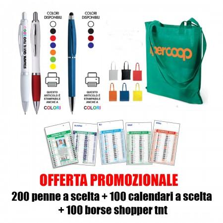 200 Penne + 100 Calendari +...