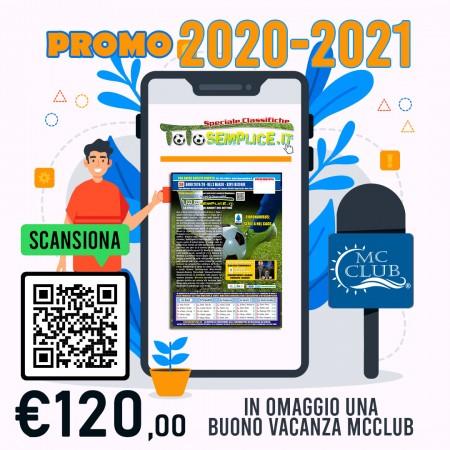 Abbonamento Online 2020-2021